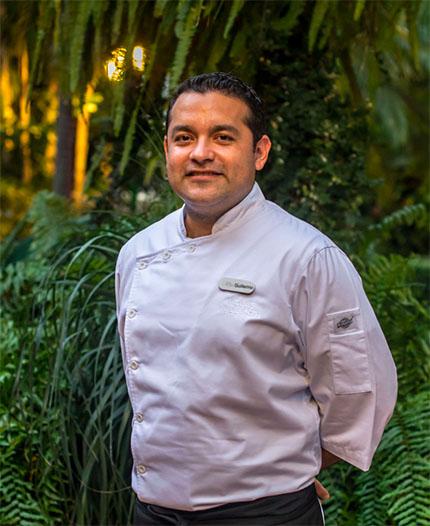 Chef Ejecutivo Guillermo Carmona